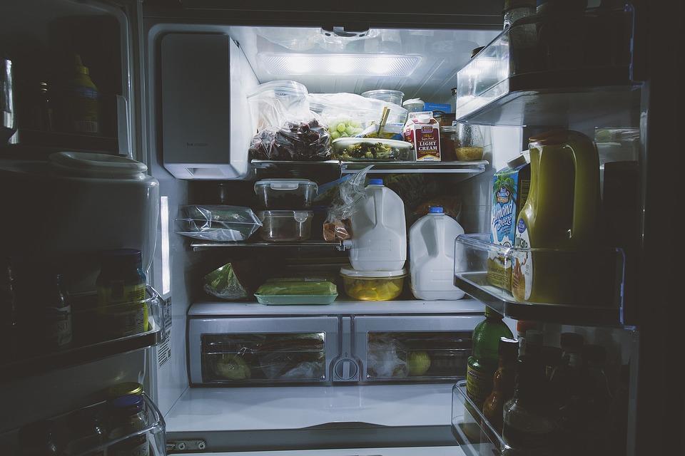 Wnętrze agregatu chłodniczego