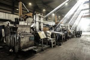 Stanowiska pracy w fabryce