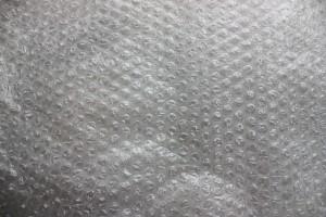 Wnętrze koperty bąbelkowej