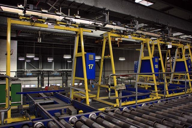 Automatyka przemysłowa w zakładzie produkcyjnym