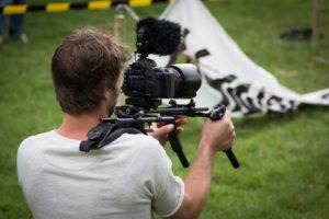 nagrywanie filmu reklamowego
