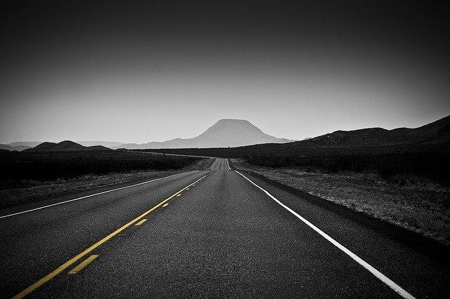 Droga z pięknym widokiem w Texasie